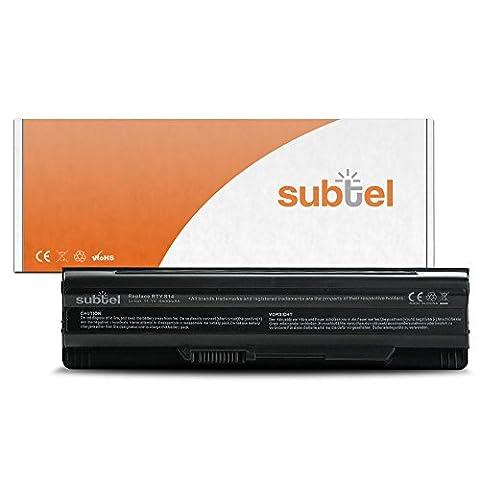 subtel® batterie ordinateur portable pour MSI GE60 / GE70 / GP60 / GP70 / CR650 / FR700 / FX600 / FX700 / GE620 / BTY-S14 / BTY-S15 (4400mAh)