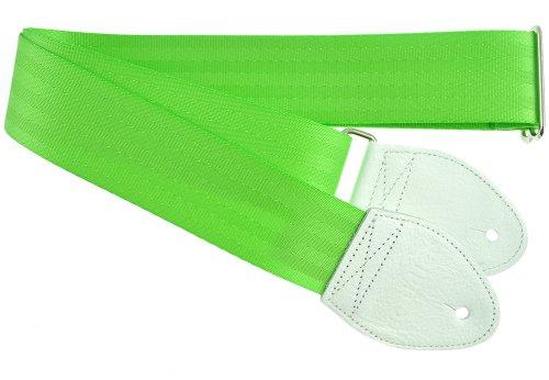 Souldier Custom Recycling Sicherheitsgurt für E-Gitarren lindgrün - Mädchen Lindgrün