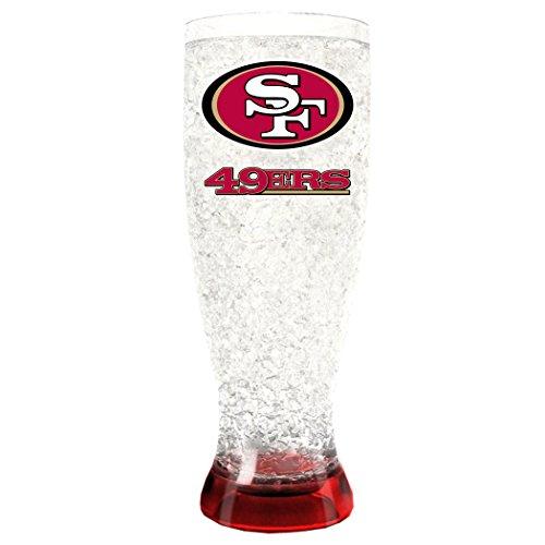 (Duck House NFL Unisex Kristall Gefrierschrank pilsners, Unisex, Crystal Freezer Pilsners, rot, 16 Ounce)