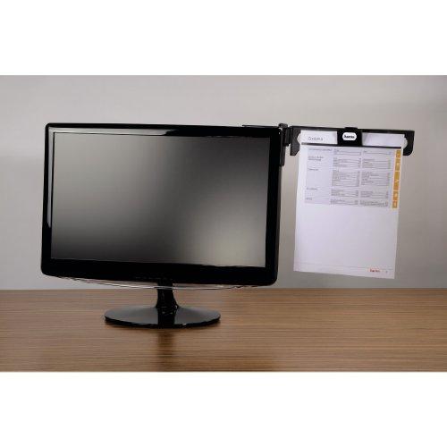 Hama - Atril con clip para monitor
