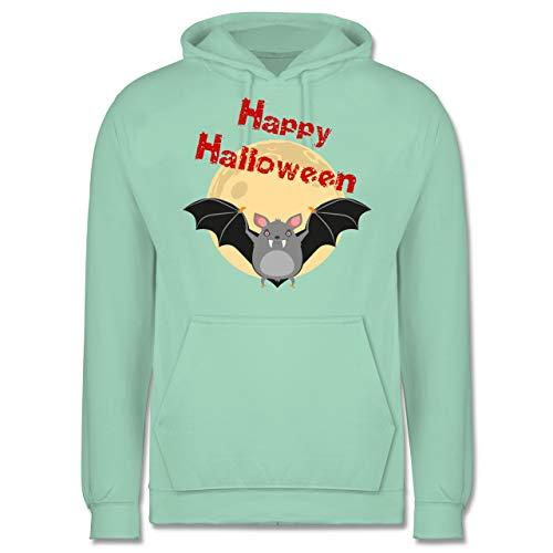 Halloween - Happy Halloween Fledermaus - XL - Mint - JH001 - Herren ()