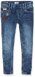 Pepe Jeans Jungen Sneaker Badge Pb201380 Jeans, Blau (10oz Light Used Gymdigo Denim 000), 14-15 (Herstellergröße: 164/14 Jahre)