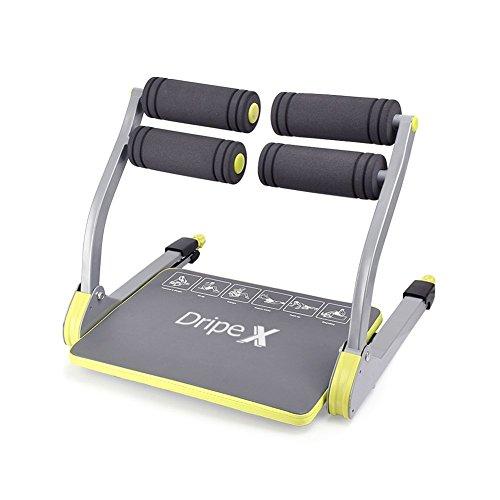 Dripex 6 in 1 Smart Fitnesstrainer, Bauchtrainer Schultertrainer Rückentrainer Beintrainer Platzsparend Fitnessgeräte Zuhause Gym Equipment Kompakt Allround Trainer (Grün)