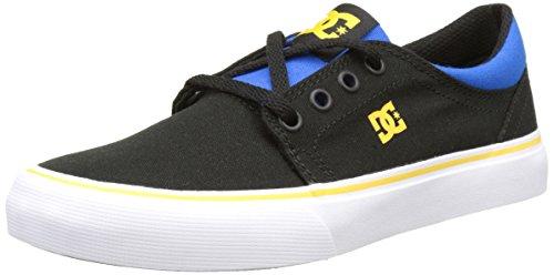 DC Shoes  Trase Tx, Sneakers basses garçon Noir (Black/Blue/Grey)