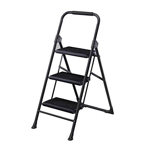 X-L-H Trittleiter, 2/3-Stufen-Heimleiter, Nicht Verschiebbare Tragbare Hockerfamilie, Werkstatt, Garage (größe : 3-Step) - Garage Shop Hocker