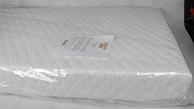 Baby Travel Cot Mattress 95 x 65 x 10 CM QUILTED Breathable Antiallergenic - UK Made - ATM-Baby Brand