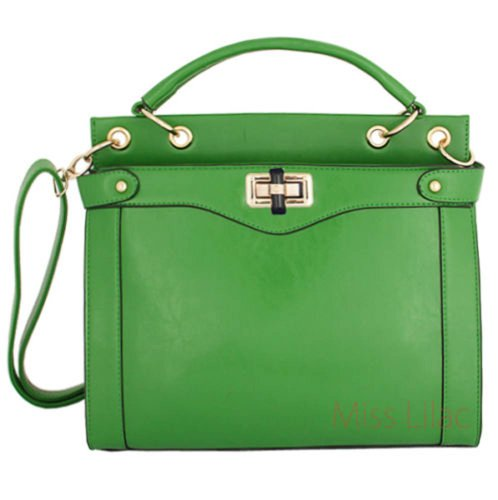 Miss Lilac , Damen Tote-Tasche grün