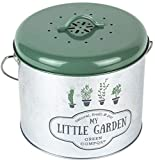 The Home Deco Factory Poubelle de Cuisine à Compost My Little Markett 5L