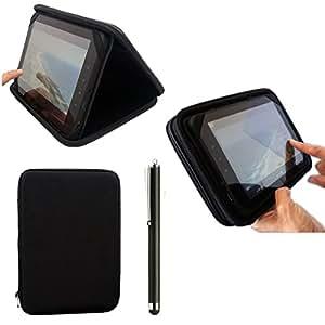 Hochwertige 22,86 cm EVA Schutzhülle für TAGITAL Zoll Schwarz T9X, IRULU X1S auf Android 4.4 Kitkat 22,86 cm Google Nexus Tablet & Stylus