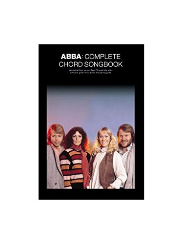 Abba: Complete Chord Songbook. Partitions pour Paroles et Accords(Boîtes d'Accord)