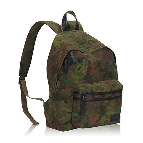 Imagen de veevan  escolar casual en color de camuflaje de lona unisex militar alternativa