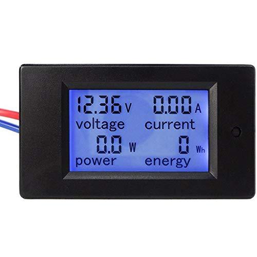 Homyl TSPZEM-031 Lcd Spannung Strom Wirkleistung Energiezähler Backlight Panel Voltmeter Amperemeter Kwh Meter 0-20A 6.5~100V Lcd-panel-meter