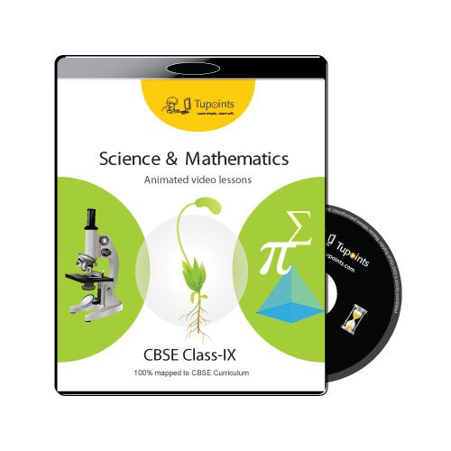 CBSE Class 9 Science and Mathematics Multimedia video lessons