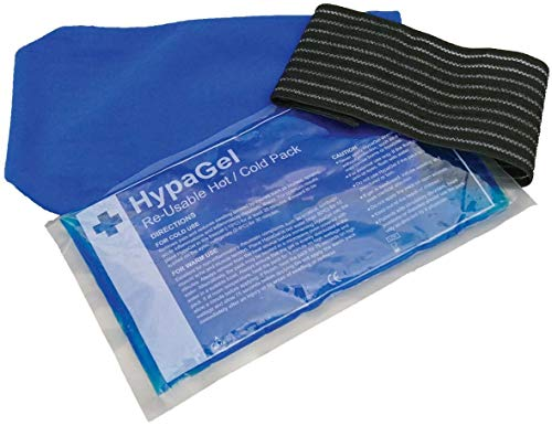 Hypagel Warm/Kalt Gelpack mit Kompressionsmanschette