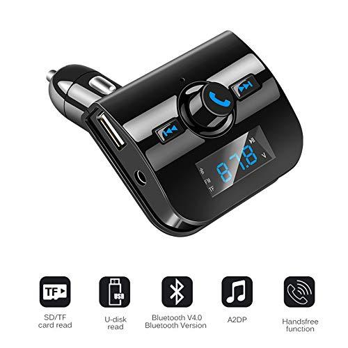 Shot Case Bluetooth FM MP3 Transmitter für LG K3, Schwarz K3 Mp3