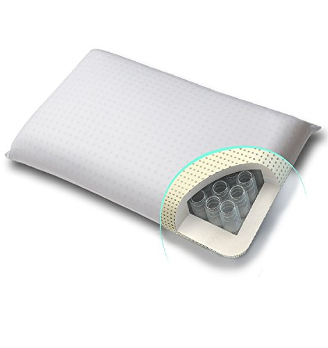 Premium Visco Taschenfederkern Kissen ortho Nackenstützkissen patentiert *Momoli* in der Ausführung firm/fest = Härtegrad 3 -