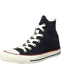 Converse Unisex-Erwachsene CTAS Hi Black/Garnet/White Hohe Sneaker