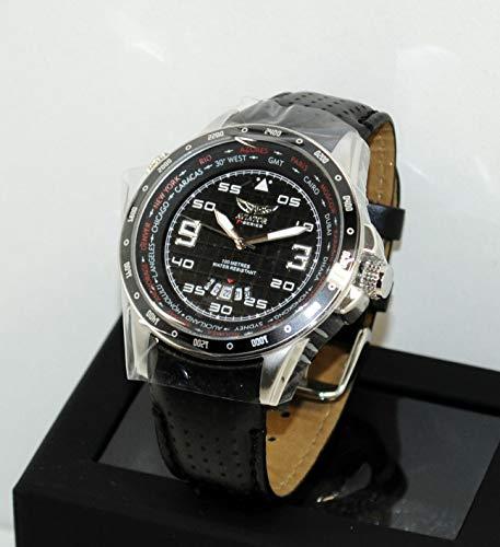 Aviator Herren-Chronograph AVW7770G84 Silber/Schwarz