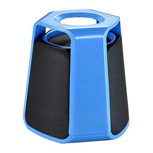 3 Zoll drahtloser Bluetooth Lautsprecher, Art und Weise Mini Streamline 3.0 Bluetooth Lautsprecher Portable Lautsprecher Active Subwoofer Auto Bluetooth Lautsprecher , blue Subwoofer-turm