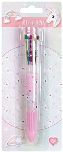 Rainbows & Unicorns 10 Bright Colour Changing Pen / Back To School / Stationery / Gift