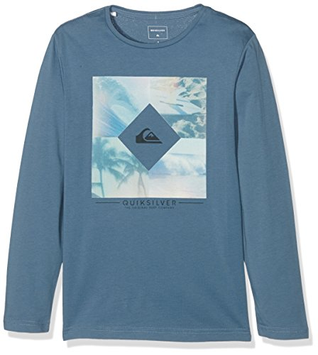quiksilver-ls-classic-tee-youth-diamond-day-t-shirt-garcon-captains-blue-fr-14-ans-taille-fabricant-