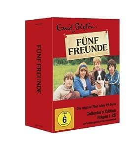 Enid Blyton - Fünf Freunde, Folgen 01-26 [Collector's Edition] [7 DVDs]