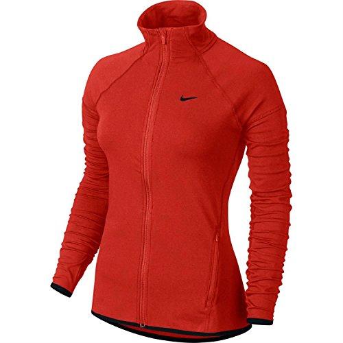 Nike DFC FZ Jacket Damen Jacke L Rot/Schwarz - Track Jacket Nike Frauen