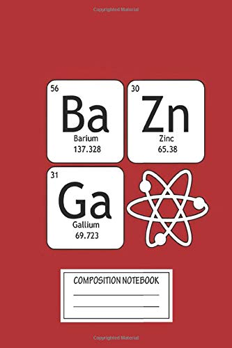 Notebook: Bazinga And Atom , Journal for Writing, Size 6