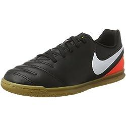 Nike 819196-018, Botas de Fútbol Unisex Adulto, Negro (Black / White-Hyper Orange-Volt), 38 EU