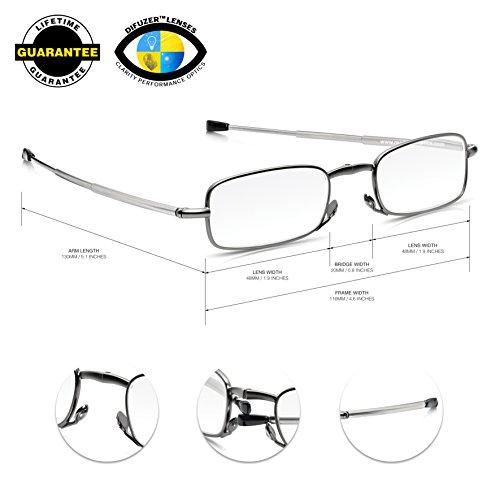 Damen Gestell Brillen Fassung Stahl Mit Schmaler Form Aubergine Halbrand Gr M 100% Garantie Damen-accessoires