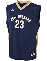 Anthony Davis New Orleans Pelicans Adidas NBA Replica Youth Jeunes Jersey Maillot - Navy