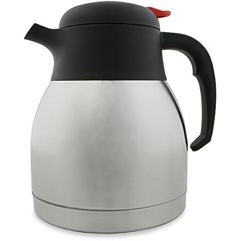 Taza de café de vacío de acero inoxidable 32 oz/1Ltr - jarra termo aislante para bebidas calientes - revestimiento resistente a los