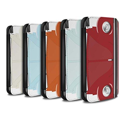 Stuff4 Coque/Etui/Housse Cuir PU Case/Cover pour Apple iPhone 6 / Pack 9pcs Design / Rétro Coccinelle Collection Pack 9pcs