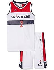 Adidas - Maillot et short NBA john Wall Washington Wizards pour junior et enfant adidas Blanc