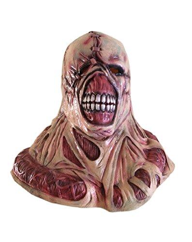DylunSky Halloween Scary Savage King Latex maske