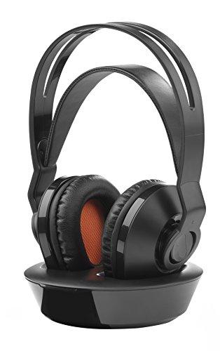 One For All HP1030 - Kopfhörer (Circumaural, Head-Band, Wireless, 20-20000 Hz, 100 dB, Black) Circumaural Gaming-headset