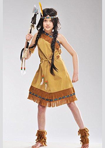 Kindergröße Western Indian Princess Kostüm XL (10-12 (Kostüm Princess Kind Indian)
