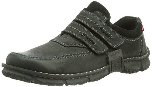 Josef Seibel Willow 12, Sneaker a Collo Basso Uomo, Nero, Taglia Unica Nero (Schwarz (schwarz 600))