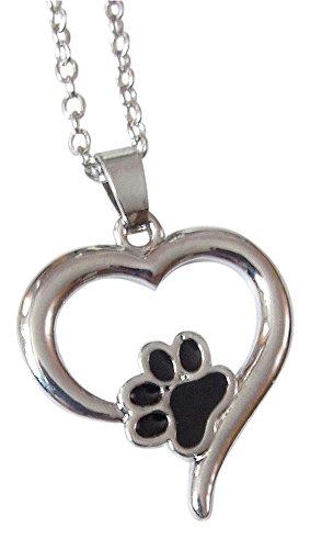 collana-ciondolo-motivo-impronta-di-zampa-cane-gatto-in-cuore-argento