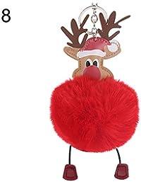 Nomi Renne Babbo Natale.Amazon It La Renna Di Babbo Natale Abbigliamento Specifico