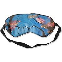 Sleep Eye Mask Heart Tree Abstract Lightweight Soft Blindfold Adjustable Head Strap Eyeshade Travel Eyepatch preisvergleich bei billige-tabletten.eu