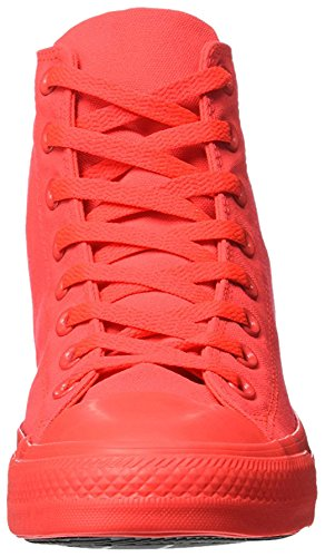 Converse - All Star Hi Neon, Sneaker alte Unisex – Adulto Rosso