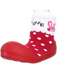 attipas bebé Walker zapatos rojos de amor–Zapatos de niños zapatillas