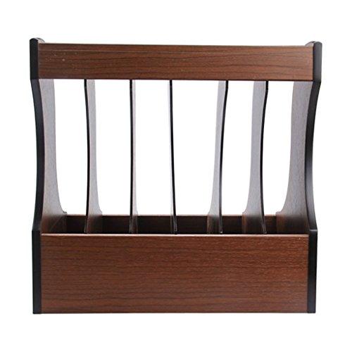 Creative Fashion Woody Escritorio Escritorio Rack Book Stand 320 * 270 * 306mm Caja de almacenamiento Caja de acabado de archivos