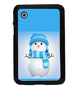 printtech Snowman Christmas Back Case Cover for Samsung Galaxy Tab 2 7.0 P3100 , Samsung Galaxy Tab 2 (7.0)