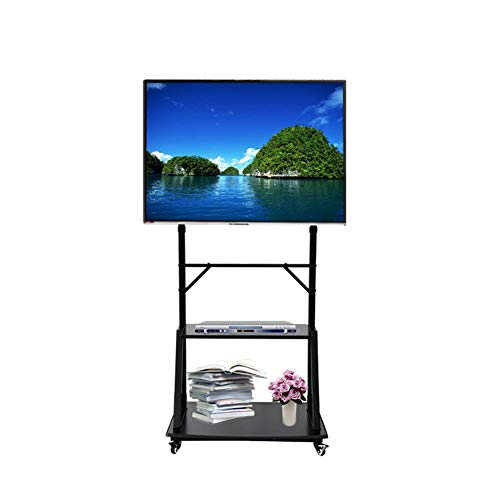 Xue Rolling TV Stand Mobile TV Cart Für 32-70 Zoll LED LCD Plasma-TV Flat Panel Displays Mit Wheels Mobile Better Viewing Angles Bedroom Classroom Meeting Room Video-Call Mobile Flat-panel-display