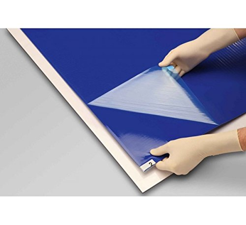 TAPPETO DECONTAMINANTE Blu Antibatterico 115 x 45 - 30 Fogli - Igene Luoghi di lavoro