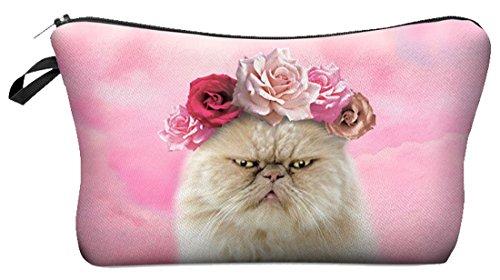 Kukubird Vari Trucchi Stampa Con Sacchetto Kukubird Rose Cat Cat