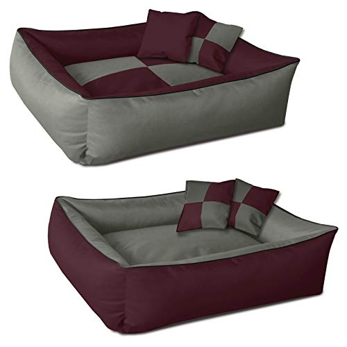 BedDog 2en1 colchón para Perro MAX Quattro XL Aprox. 100x85 cm, 8...