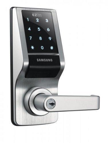 Samsung EZON Touchpad Digital Door Lock (Black) (8.75H x 3.4W x 2.72D)
